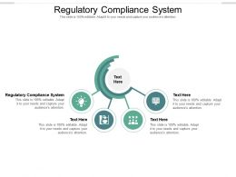 Regulatory Compliance System Ppt Powerpoint Presentation File Graphics Cpb