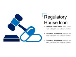 Regulatory House Icon Powerpoint Ideas