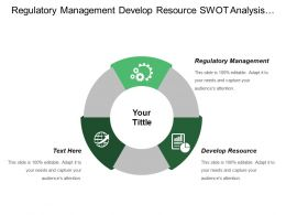 Regulatory Management Develop Resource Swot Analysis Strategic Issues
