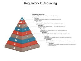 Regulatory Outsourcing Ppt Powerpoint Presentation Themes Cpb