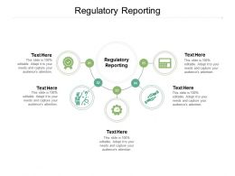 Regulatory Reporting Ppt Powerpoint Presentation Infographics Format Ideas Cpb
