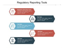Regulatory Reporting Tools Ppt Powerpoint Presentation Layouts Portfolio Cpb