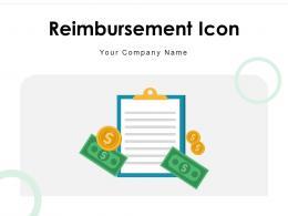 Reimbursement Icon Dollar Illustrating Service Indicating Products