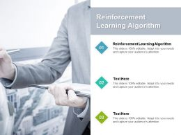 Reinforcement Learning Algorithm Ppt Powerpoint Presentation Gallery Graphic Tips