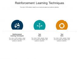 Reinforcement Learning Techniques Ppt Powerpoint Sample Cpb