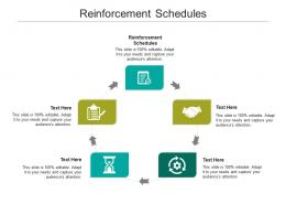 Reinforcement Schedules Ppt Powerpoint Presentation Slides Icons Cpb