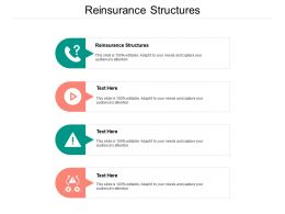 Reinsurance Structures Ppt Powerpoint Presentation Inspiration Infographics Cpb