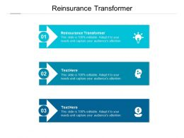 Reinsurance Transformer Ppt Powerpoint Presentation Icon Inspiration Cpb