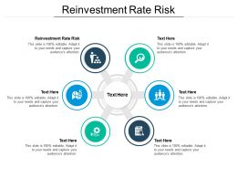 Reinvestment Rate Risk Ppt Powerpoint Presentation Model Templates Cpb