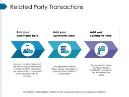 Related Party Transactions Powerpoint Slide Presentation Sample