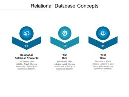 Relational Database Concepts Ppt Powerpoint Presentation Outline Influencers Cpb