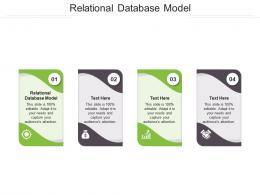 Relational Database Model Ppt Powerpoint Presentation Portfolio Design Ideas Cpb