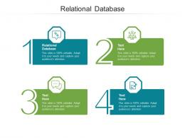 Relational Database Ppt Powerpoint Presentation Icon Example Cpb