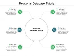 Relational Database Tutorial Ppt Powerpoint Presentation Model Aids Cpb