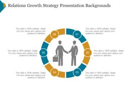 Relations Growth Strategy Presentation Backgrounds