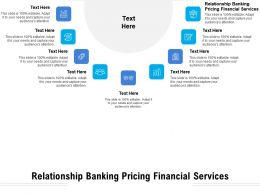 Relationship Banking Pricing Financial Services Ppt Powerpoint Presentation Inspiration Elements Cpb