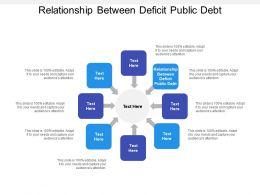 Relationship Between Deficit Public Debt Ppt Powerpoint Presentation Gallery Cpb