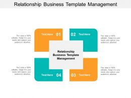 Relationship Business Template Management Ppt Powerpoint Presentation Infographic Cpb