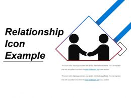 Relationship Icon Example Powerpoint Templates