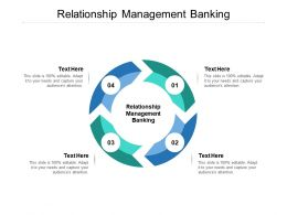 Relationship Management Banking Ppt Powerpoint Presentation Styles Designs Cpb