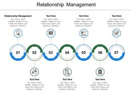Relationship Management Ppt Powerpoint Presentation Professional Show Cpb
