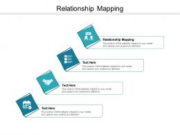 Relationship Mapping Ppt Powerpoint Presentation Model Structure Cpb