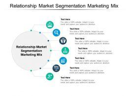 Relationship Market Segmentation Marketing Mix Ppt Powerpoint Presentation Outline Example Cpb