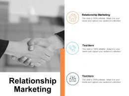Relationship Marketing Ppt Powerpoint Presentation Infographic Template Sample Cpb