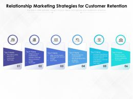 Relationship Marketing Strategies For Customer Retention