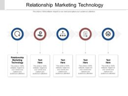 Relationship Marketing Technology Ppt Powerpoint Presentation Model File Formats Cpb