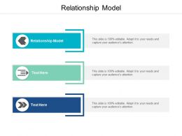Relationship Model Ppt Powerpoint Presentation Inspiration Images Cpb