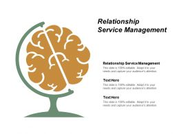 Relationship Service Management Ppt Powerpoint Presentation File Visuals Cpb