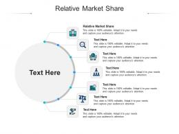 Relative Market Share Ppt Powerpoint Presentation Icon Format Cpb