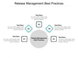 Release Management Best Practices Ppt Powerpoint Presentation Summary Backgrounds Cpb