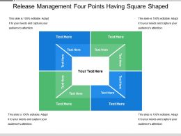 Release Management Four Points Having Square Shaped