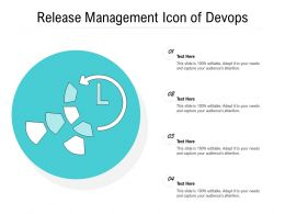 Release Management Icon Of Devops