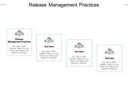 Release Management Practices Ppt Powerpoint Presentation Portfolio Background Designs Cpb