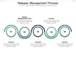 Release Management Process Ppt Powerpoint Presentation Icon Background Image Cpb