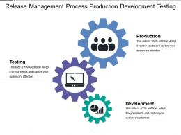 Release Management Process Production Development Testing