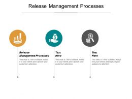Release Management Processes Ppt Powerpoint Presentation Gallery Portfolio Cpb