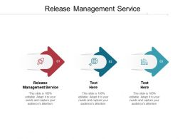 Release Management Service Ppt Powerpoint Presentation Inspiration Tips Cpb