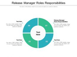 Release Manager Roles Responsibilities Ppt Presentation Model Format Cpb