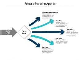 Release Planning Agenda Ppt Powerpoint Infographic Template Show Cpb