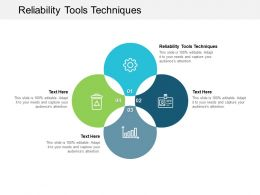 Reliability Tools Techniques Ppt Powerpoint Presentation Summary Influencers Cpb