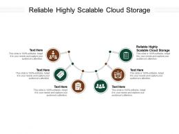 Reliable Highly Scalable Cloud Storage Ppt Powerpoint Presentation Pictures Templates Cpb