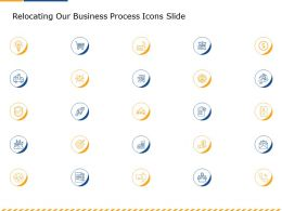 Relocating Our Business Process Icons Slide Ppt Powerpoint Presentation Infographics Inspiration