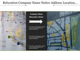 Relocation Company Name Notice Address Location Change Shifting