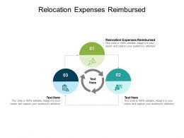 Relocation Expenses Reimbursed Ppt Powerpoint Presentation Summary Slide Cpb