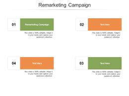 Remarketing Campaign Ppt Powerpoint Presentation Summary Visual Aids Cpb