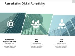 Remarketing Digital Advertising Ppt Powerpoint Presentation Infographics Influencers Cpb